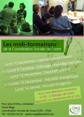Flyer Midi-formations 2012