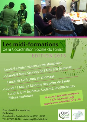 Midi-Formations 1er semestre 2015